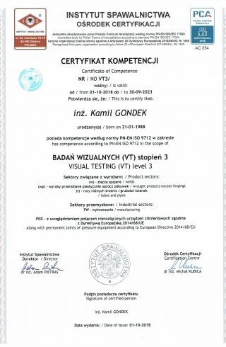 3_Badania_Wizualne_VT3_wg_PN-EN_ISO_9712___-__Visual_Testing_VT3_to_PN-EN_ISO_9712