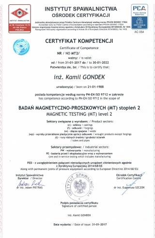 6_Badania_Magnetyczno-Proszkowe_MT2_wg_PN-EN_ISO_9712__-___Magnetic_Testing_MT2_to_PN-EN_ISO_9712
