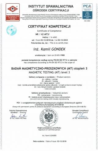 7_Badania_Magnetyczno-Proszkowe_MT3_wg_PN-EN_ISO_9712__-___Magnetic_Testing_MT3_to_PN-EN_ISO_9712